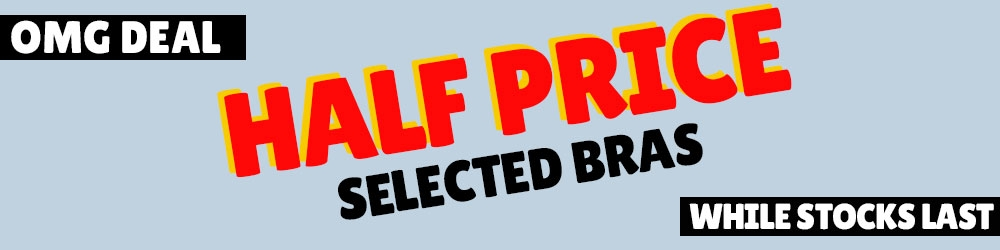 Half Price Selected Berlei Bras