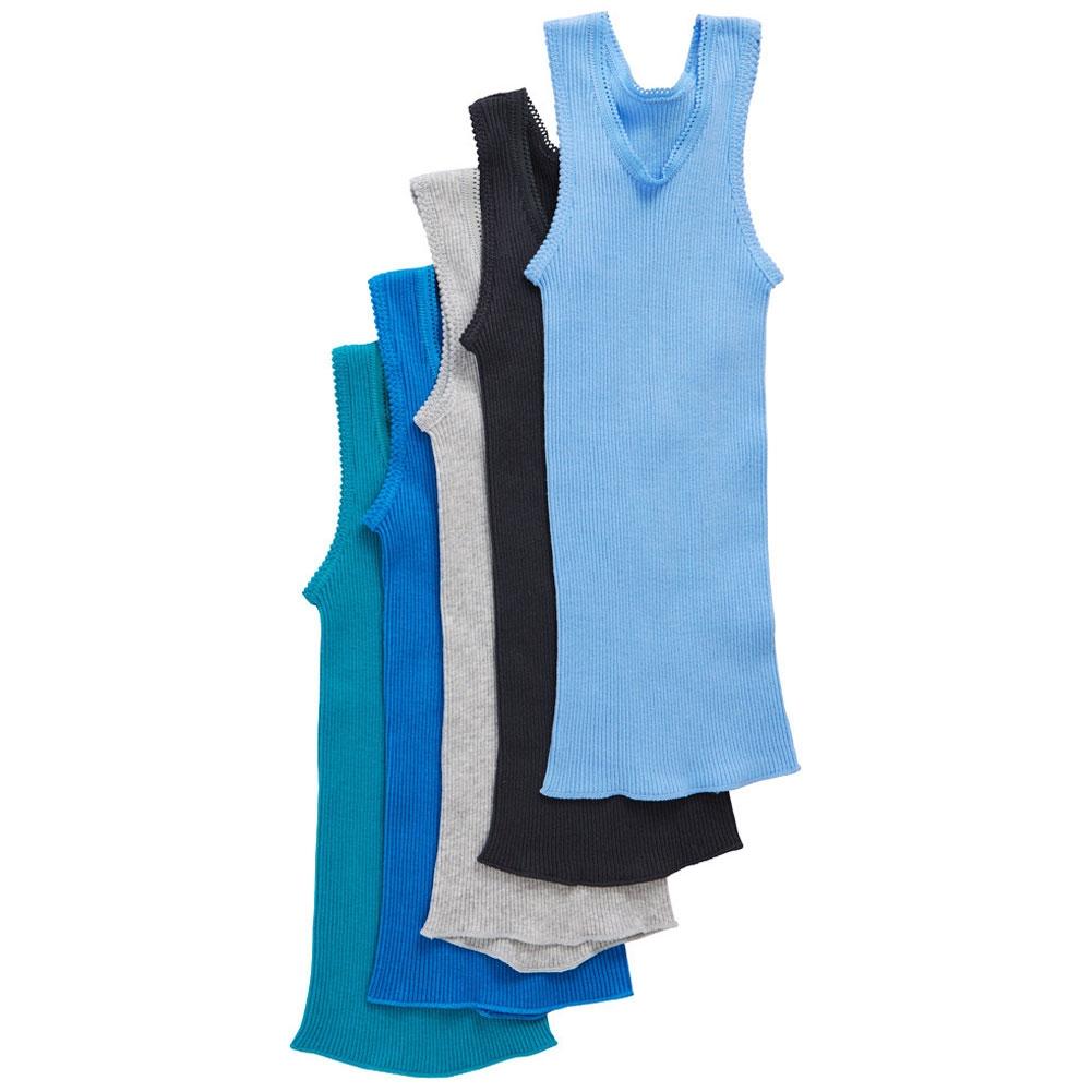 9b5f52eb0b9a Bonds Baby Vest 5-Pack BZK1 Multi Babywear