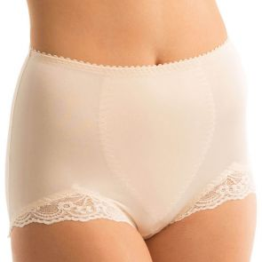 Triumph Something Else Tum-E-Lace Panty 10000119 Fresh Powder