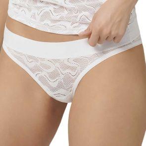 Sloggi Go All Around Lace Mini Hipster 10209398 White