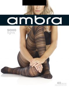 Ambra Soho Tights AMSOHHOS Black