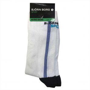 Bjorn Borg Active Sport Crew Sock White 124891 129115 01530