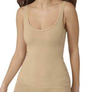 Sloggi Go All Around Lace Shirt Top 10209397 Peanut Butter
