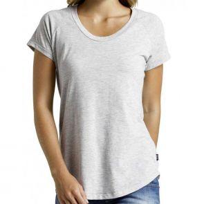 Bonds Womens Basic Raglan T-Shirt Grey Marle CZBTI