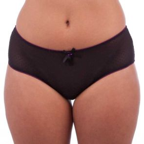 Little Minx Mystique Brief Black LM8062B
