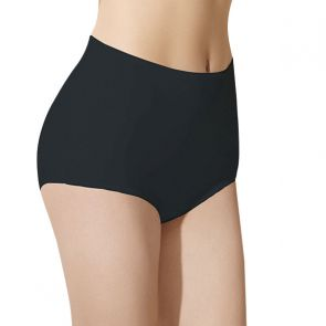 Doreanse Womens Hi-Cut Brief 7161 Black
