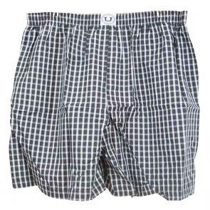 Mundo  Unico Confort Boxer Shorts 99436J99 Black Check