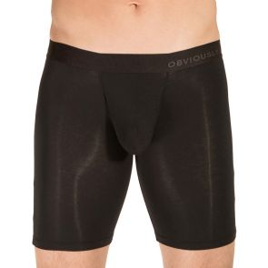 Obviously PrimeMan Boxer Brief 9 Inch Leg A01 Black