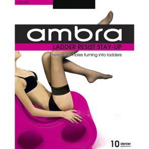 Ambra Ladder Resist Stay Ups AMLRSU Natural