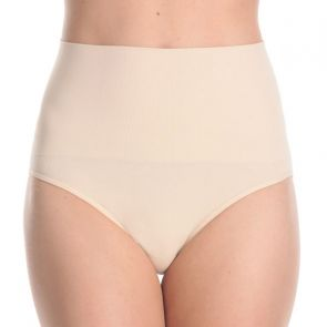 Ambra Anti-Cellulite Hi-Cut Brief AMSHHRB Bare
