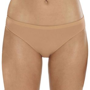 Ambra Microfibre Seamless Singles Cheeky Hipster AMSSMFCH Nude