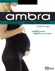 Ambra 70D Opaque Baby Bump Tight ABABUO Black Multi-Buy