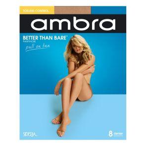 Ambra Better Than Bare No Toe Control Brief Pantyhose BETBNTCON Bondi Buff Multi-Buy