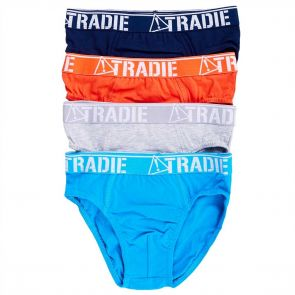 Tradie Boys Jr. 4PK Brief BJ3027SB4 Kapow