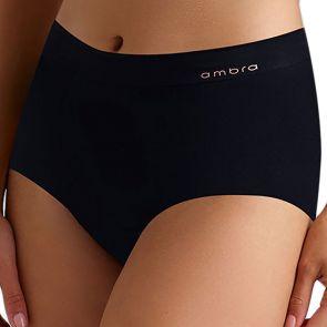 Ambra Bondi Bare Full Brief AMUWBOFB Black