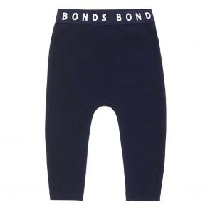 Bonds Stretchies Baby Legging BXF8A Nu Navy