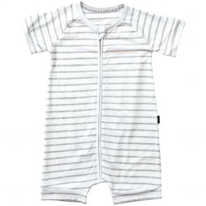 Bonds Zip Romper Wondersuit BXNMA Grey Stripes