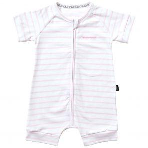 Bonds Zip Romper Wondersuit BXNMA Pink Stripes