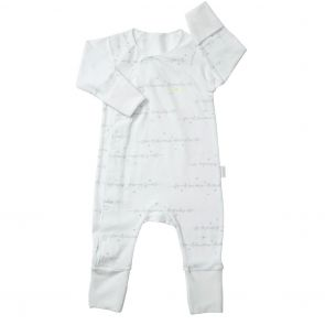Bonds Baby Cozysuit BXQBA White