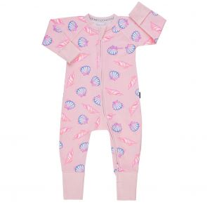 Bonds Baby Zip Wondersuit BZBVA Pink Shells