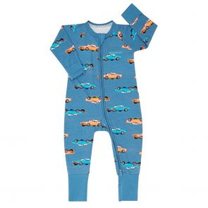 Bonds Baby Zip Wondersuit BZBVA Blue Cars