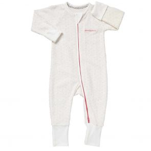 Bonds Baby Zip Wondersuit Poodelette BZJSM White Pink Spot