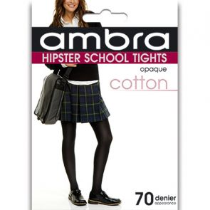 Ambra Cotton Hipster School Tight CHIPST Classic Black Multi-Buy