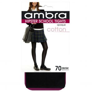 Ambra Cotton Hipster School Tight CHIPST College Navy Multi-Buy