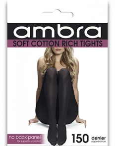 Ambra Cotton Comfort Tight ACOCOTI Black Multi-Buy