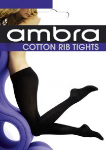 Ambra Cotton Rib Tight ACOTRIBTI Black