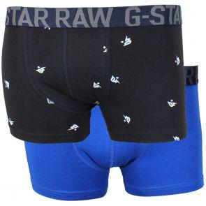 G-Star RAW Donoe Sport Trunk 2 Pack D00809 2058 6006 Black