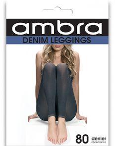 Ambra Denim Leggings ADENFTLS Black Multi-Buy