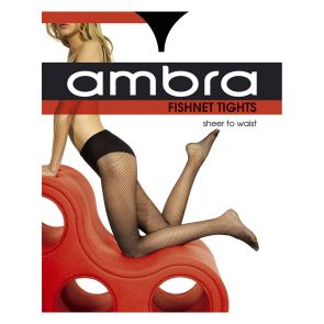 Ambra Fishnet Tights FISNTTI Black Multi-Buy