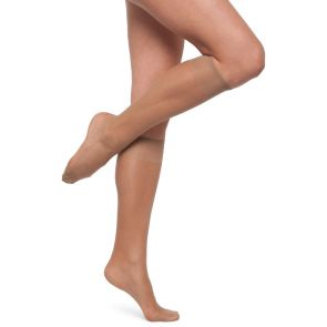 Kayser Silky Elastane Knee Highs 2-Pack H10202 Nubeige Multi-Buy