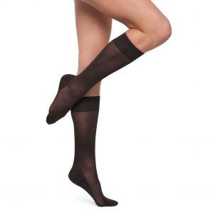 Kayser Plus Support Knee Hi's H10214 Nearly Black Multi-Buy