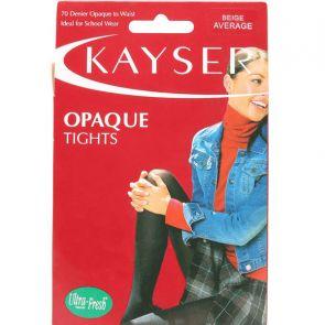 Kayser 70 Denier Opaque Tights H10350 Beige Multi-Buy