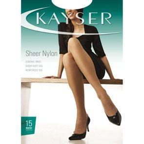 Kayser Sheer Nylon Sheers H10610 Nearly Black Multi-Buy