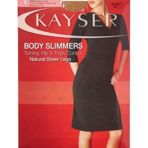 Kayser Body Slimmers Natural Sheer Legs H10807 Slate Multi-Buy