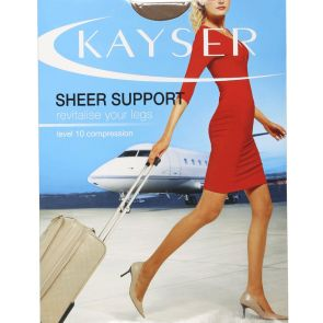 Kayser Sheer Support Sheers H10860 Nearly Black