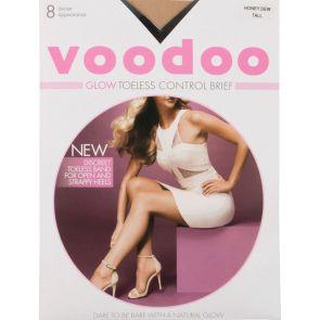 Voodoo Glow Toeless Control Brief Sheers H30558 Honey Dew Multi-Buy