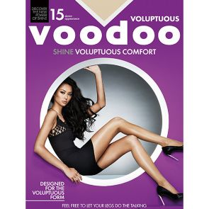 Voodoo Voluptuous Shine Sheers H30560 Celestial Multi-Buy