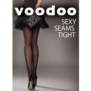 Voodoo Sexy Seams H31021 Black Multi-Buy