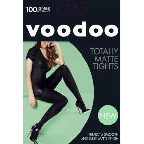 Voodoo Totally Matte Tights H31606 Black