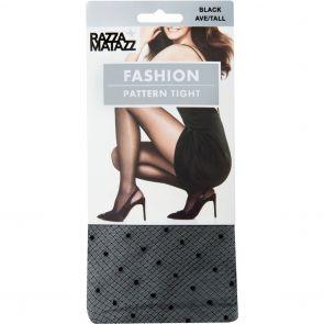 Razzamatazz Fashion Pattern Tight H80073 Black Multi-Buy