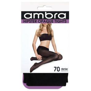 Ambra 70D Hipster Opaque Tight HIPOP70TI Black Multi-Buy