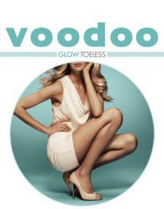 Voodoo - Glow Toeless Pantyhose