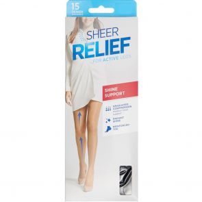 Sheer Relief 15D Sheers HXXM1N Tan Multi-Buy