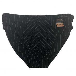 Oroton Brief ORT018A Black Stripe
