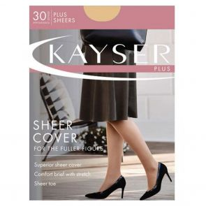 Kayser Plus Sheer Cover H10621 Ink Navy Multi-Buy