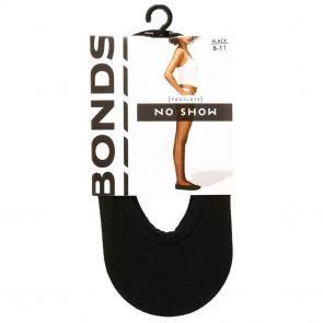 Bonds No Show Footlets L64711 Black Multi-Buy